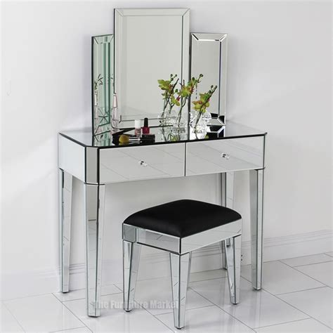 mirrored vanity table 15 deco mirrored dressing table mirror ideas 4167