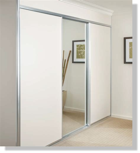 Interior Engaging Images Of White Sliding Closet Doors