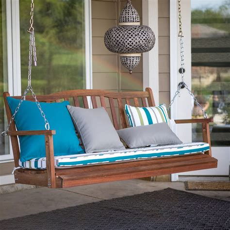 porch swing buying guide tips  designs dimensions