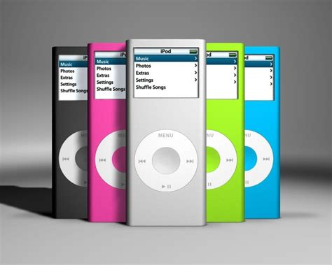 ipod nano generationen an illustrated history of the ipod and its impact