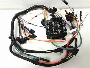 Chevrolet Chevy Camaro Dash Wire Wiring Harness 69 1969