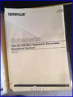 cat service manual   cr  cr mini hydraulic excavator