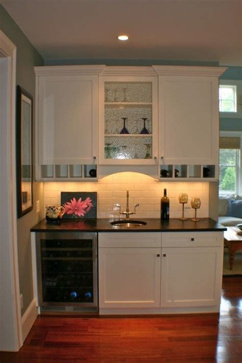 Kitchenette Cabinets by Basement Kitchenette Small Shelves Below Uppers Are