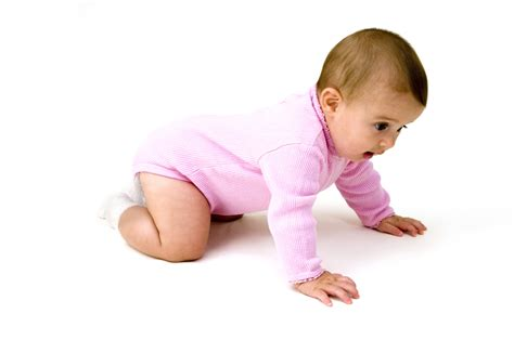 Babies Crawling Development