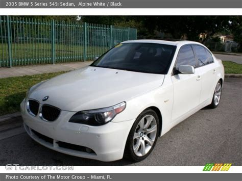 Bmw 545i Specs by Bmw 5 Series 545i 2005 Auto Images And Specification