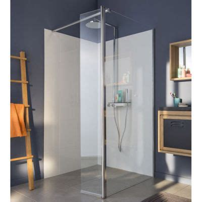 siege wc paroi de fixe transparente 90 cm volet 30 cm