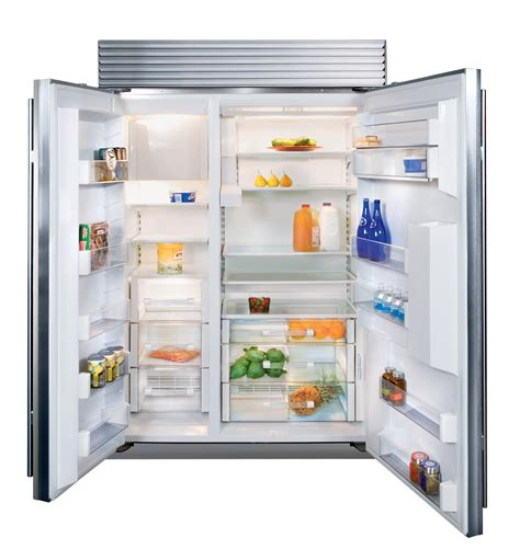 Sub Zero Bi 48sd48 Side By Side Refrigerator With