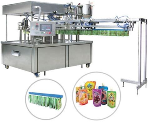 spout pouch filling machine automatic  spout pouch filling capping machine manufacturer