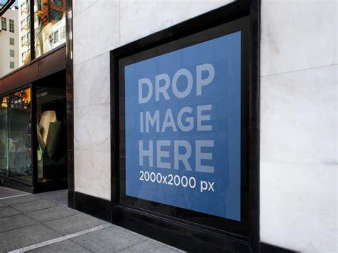 White Square Billboard urban billboard mockup 800 x 600 · jpeg