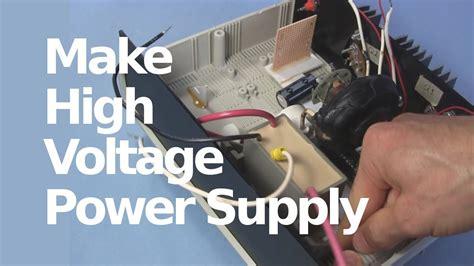 kv high voltage dc power supply  flyback cockcroft walton multiplier tripler