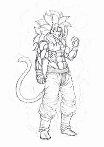 Goku Ssj4 By Obi1knobi On Deviantart
