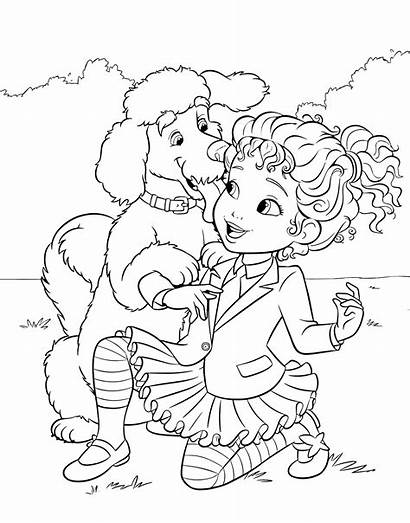 Nancy Fancy Coloring Poodle Dog Pages Frenchy