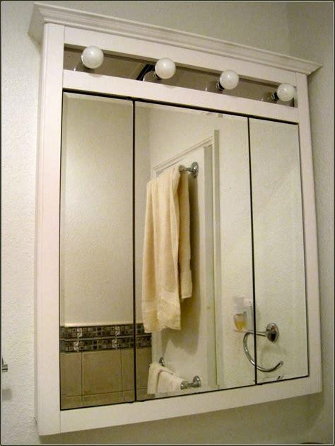 Tri View Medicine Cabinet Mirror Home Design Ideas