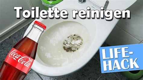 cola toilette reinigen toilette reinigen mit coca cola und backpulver hack anleitung