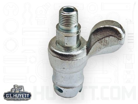 Alemite Fitting Coupler Pin Type 1/8-27nptf Wing Bui