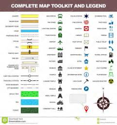 Google Maps Legend Key Symbols