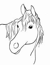 Horse Coloring Printable Samanthasbell sketch template