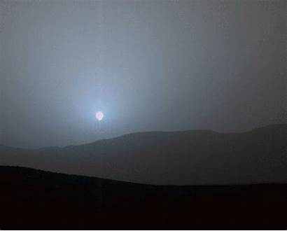 Mars Sunset Rover Metro Nasa Sunsets Curiosity
