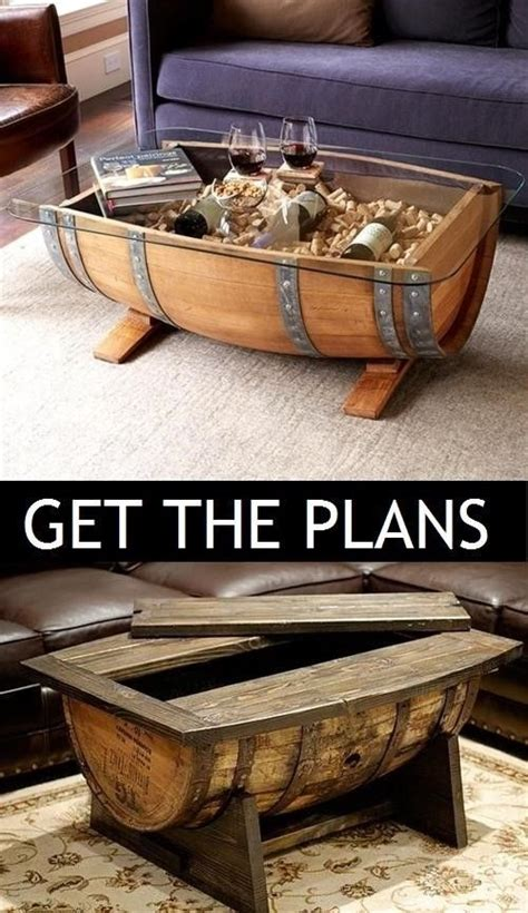 Browse selection of modern living room coffee tables, in a range of styles and materials, always at attractive prices. whiskey barrel coffee table and end tables in 2020 | Whiskey barrel coffee table, Barrel coffee ...
