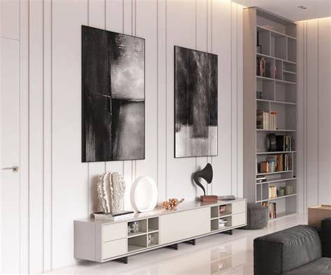 Minimalist Muted Colour Home With Scandinavian Influences by 1000 Ideas About Tv Feature Wall On Feature