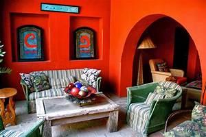 Magazine Décoration Intérieur : d coration int rieure style mexicain ~ Teatrodelosmanantiales.com Idées de Décoration