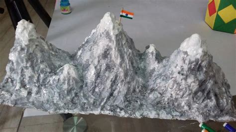 ice covered mountain model  learn