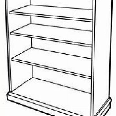 Clipart Clip Rack Shelves Bookshelf Bookcase Cartoon