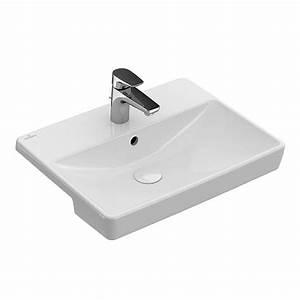 Villeroy Boch Avento : villeroy boch avento semi recess washbasin bathrooms direct yorkshire ~ A.2002-acura-tl-radio.info Haus und Dekorationen
