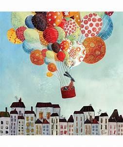 Tableau Chambre Bébé Garçon : ballons in volo ~ Melissatoandfro.com Idées de Décoration