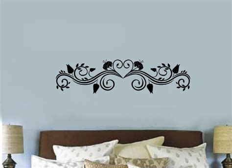 Scroll Embellishment Borders Vinyl Decal Wall Sticker