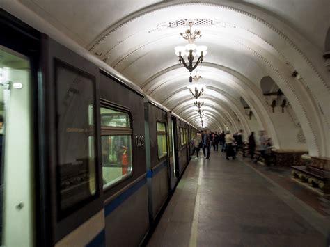 moscow metro part  arbatskaya belorusskaya