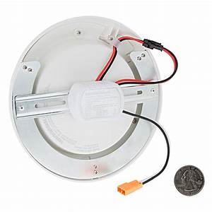 Quot flush mount led ceiling light dimmable disk