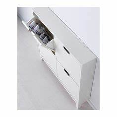 Ikea Schuhschrank Ställ : st ll shoe cabinet with 4 compartments white floor space spaces and hall ~ Pilothousefishingboats.com Haus und Dekorationen