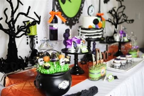 A Wickedly Sweet Witch Inspired Halloween Party