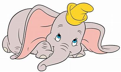 Dumbo Elephant Cartoon Clipart Disney Clip Drawing