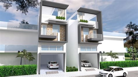 Narrow House Design front size 5m YouTube