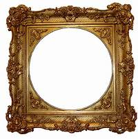 gold picture frames Graphics and Visibility: Framing and Alan Sondheim and ...