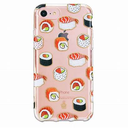 Sushi Cases Iphone Clear Phone Case Covers