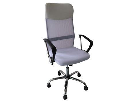 roulettes fauteuil bureau fauteuil de bureau à roulettes quot tino quot blanc 85741 85744