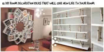 Diy Decorating Ideas For Rooms by 12 Simple DIY Room Interior Decoration Ideas