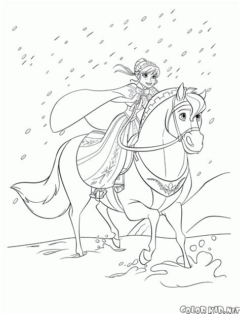 coloring page queen elsa  arendelle