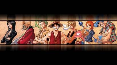 Piece Anime Crew Ultra Wide Wallpapers Straw