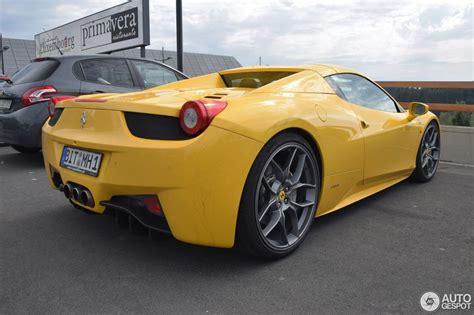 Ferrari 458 Spider  1 September 2016 Autogespot