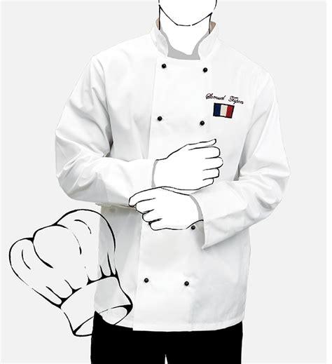 veste de cuisine brod馥 veste de cuisine personnalisee 28 images veste cuisinier markus textiles pro personnalis 233 s kelcom veste de cuisine personnalis 233 e brod