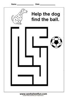 1000 about preschoolers find the way maze preschool and worksheets for