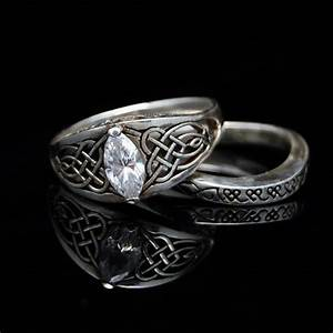 1000 Images About NorseCeltic Wedding Ring On Pinterest