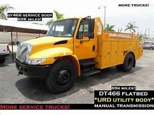 International 4300 Service Flatbed Truck Urd Utility Truck