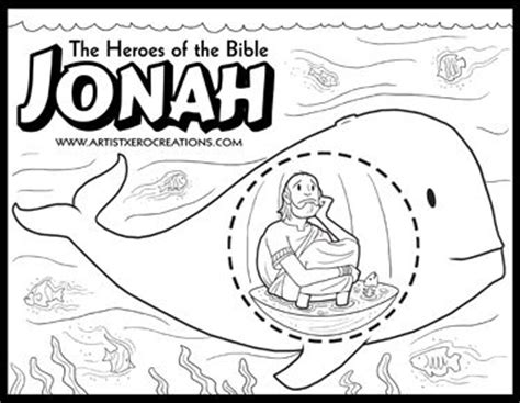 heroes   bible coloring pages jonah