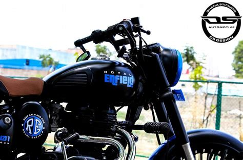 modified royal enfield classic   sinfully elegant