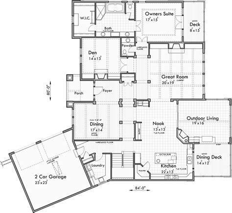 daylight basement floor plans luxury house plans daylight basement house plans custom